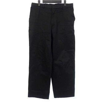 ラフシモンズ/RAF SIMONS 17AW Wide leg pant tape pleats back テープワイドパンツ買取参考金額15.000~18.000円前後