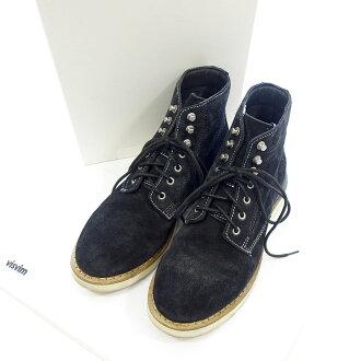 ヴィズヴィム/VISVIM VIRGIL BOOTS-FOLK スウェードレザー レースアップ ブーツ 買取参考金額10.000~15.000円前後