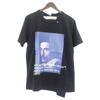 オフホワイト/OFF WHITE 18AW S/S T-SHIRTベルニーニ プリントオーバーサイズTシャツ参考買取価格15.000~20.000円前後