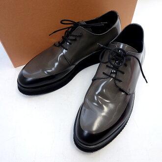 ヌメロヴェントゥーノ/N21 バイカラー 切替 厚底 ガラスレザー シューズ 靴 参考買取価格3.000円~5.000円前後