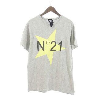 ヌメロヴェントゥーノ/N 21 ロゴスタープリントTシャツ 参考買取価格2.000~4.000円前後