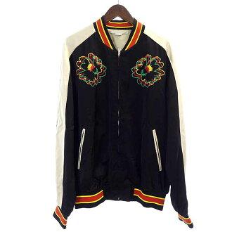 ステラマッカートニー/Stella McCartney 17SS 刺繍 ボンバー スカジャンジャケット 参考買取価格25.000~30.000円前後