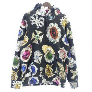 dc8476342e4 シュプリーム SUPREME 18AW Jewels Hooded Sweatshirts ジュエルパーカー  買取参考価格10.000円~18.000円 前後