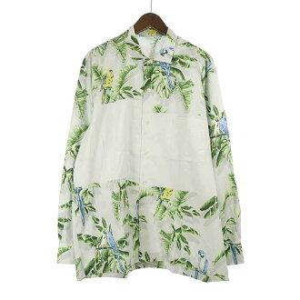 ステラマッカートニー/STELLA McCARTNEY Paradise Print Panel Shirt In Grey パラダイスシャツ 買取参考金額15.000~18.000円前後