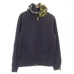 1ea238f2d58a2 アベイシングエイプ/A BATHING APE 17AW FULL ZIP HOODIE フルジップアップ カモパーカー 参考買取価格5.000~15.000円前後