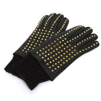 バーバリープローサム/BURBERRY PRORSUM レザースタッズ手袋 参考買取価格5.000~9.000円