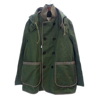 サカイ/SACAI 16ASS Pea Coat Removable Hood Pコートジャケット買取参考金額20.000~24.000円前後