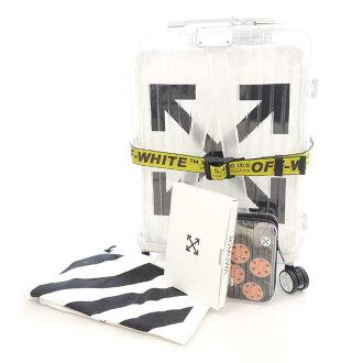 リモワ/RIMOWA ×OFF-WHITE キャリー スーツ ケース ESSENTIAL See Th 買取参考金額は 150.000円前後