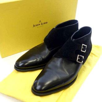 ジョンロブ/JOHN LOBB ダブルモンク スウェード レザー ブーツ買取参考金額は 50.000~60.000円前後