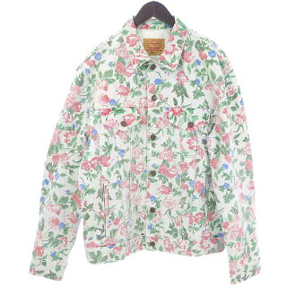SUPREME 16SS ×Levis  リーバイス Roses Trucker Jacket  買取参考金額  12000~15000円前後