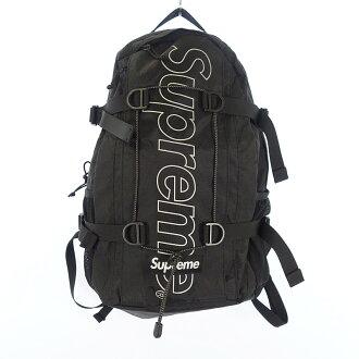 シュプリーム/SUPREME 18AW Backpack ナイロンバックパック リュック