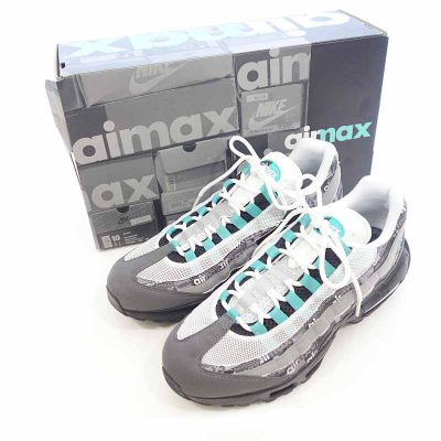 ナイキ/NIKE AIR MAX 95 ATMOS WE LOVE NIKE CLEAR JADE参考買取価格10000~15000円前後