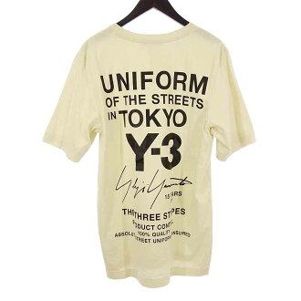 ワイスリー/Y-3 adidas yohji yamamoto バック プリント Tシャツ買取参考金額5000~10000円前後