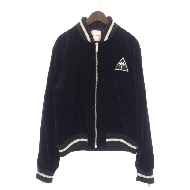 パームエンジェルス/Palm Angels 17AW J-Velvet Souvenir Cotton Jacket ベロア ブルゾン 買取参考金額 20,000~25,000円前後