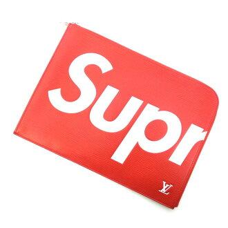 シュプリーム/SUPREME 17AW LOUIS VUITTON ルイヴィトン Pochette 買取参考金額100,000~120,000円前後