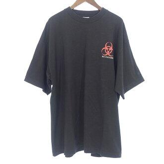 ヴェトモン/VETEMENTS 17AW VOLUNTEER オーバーサイズプリントクルーネック半袖Tシャツ 買取参考金額15,000~20,000円前後