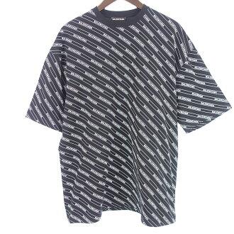 バレンシアガ/BALENCIAGA 19ss ALL OVER LOGO 半袖Tシャツ