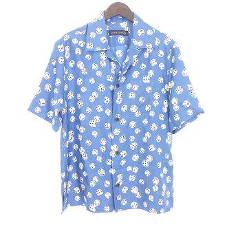 ルイヴィトン/LOUIS VUITTON 18AW シルク ダイス オープンカラー シャツ 買取参考金額 20000~25000円前後