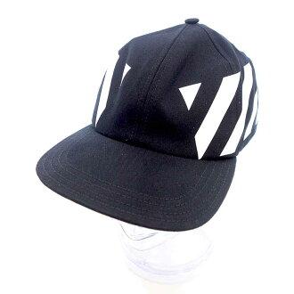 オフホワイト/OFF WHITE 18AW OMLB008F18515049 DIAG BLACK CAP キャップ 買取参考金額 5.000~10.000円前後