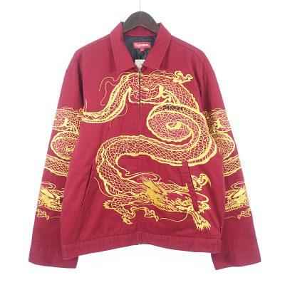 シュプリーム/SUPREME 18AW Dragon Work Jacketジャケット参考買取価格20000~30000円前後