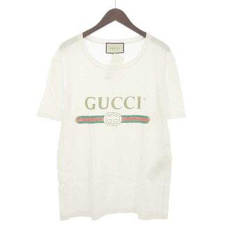 グッチ/GUCCI ヴィンテージロゴプリントTシャツ買取参考金額は20000円前後