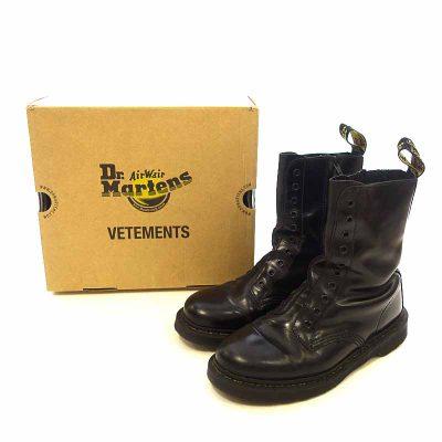 ヴェトモン/VETEMENTS Dr. Martens 10ホールブーツ 参考買取価格22.000円前後