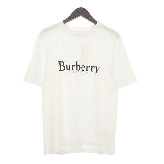 バーバリー/BURBERRY 18AW エンブロイダリー ロゴ プリントTシャツ 買取参考金額10,000~15,000円前後