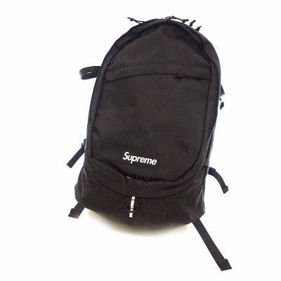 シュプリーム/SUPREME 19SS Backpack BOX LOGO 総柄 ロゴ バックパックリュック参考買取価格12000~18000円前後