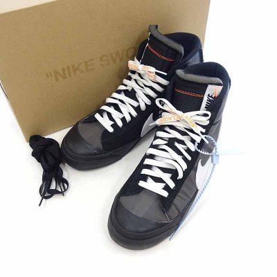 ナイキ/NIKE THE 10 OFF WHITE BLAZER MID スニーカー 参考買取価格20.000円から25.000円前後