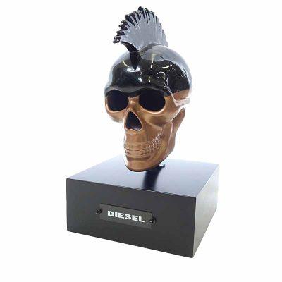 ディーゼル/DIESEL 非売品 スカル 骸骨 オブジェ 買取参考金額 5000~8000円前後
