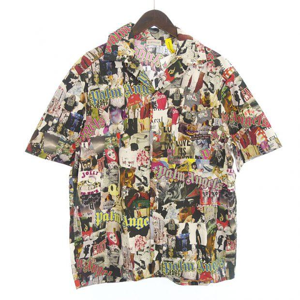 モンクレール/MONCLER 19AW Palm Angels 総柄 グラフィティシャツ 買取参考金額30,000~40,000円前後