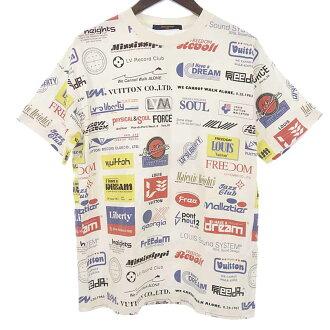 ルイヴィトン/LOUIS VUITTON 19SS 1A5DGH オールオーバー ロゴ プリンテッド Tシャツ  買取参考金額 20000~25000円前後