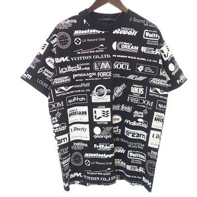 ルイヴィトン/LOUIS VUITTON 19SS 1A5DGP オールオーバーロゴプリンテッドTシャツ 買取参考金額30,000円から40,000円前後