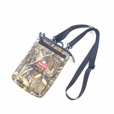 シュプリーム/SUPREME 19AW Shoulder Bag Tree Camo ツリー カモ ロゴ 総柄 バッグ 買取参考金 5000円前後