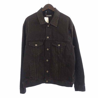 バレンシアガ/BALENCIAGA 19AW Big Fit Black Denim Jacket 買取参考価格50.000円から60.000円前後