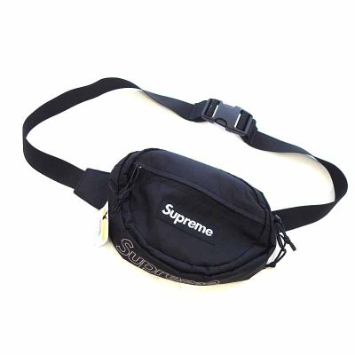 シュプリーム/SUPREME 18AW Waist Bag ボックス ロゴ ナイロン ウエスト ボディバッグ参考買取価格8000~12000円前後