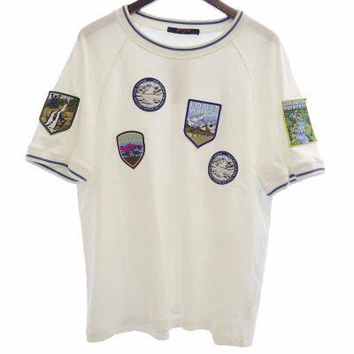 ルイヴィトン/LOUIS VUITTON 18AW HFY77WHUC ナショナルパークパッチ Tシャツ 参考買取価格2万から2.5万前後