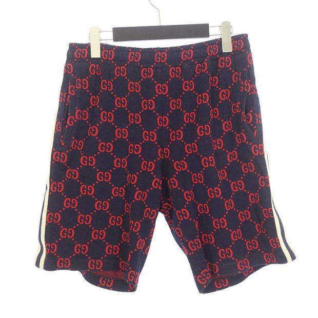 グッチ/GUCCI 18SS GG Jaquard Jersey Shorts GG柄 ジャガード参考買取価格20000~30000円前後