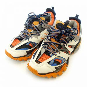 Balenciaga Track Trainers Low Top Sneakers Orange Size 43