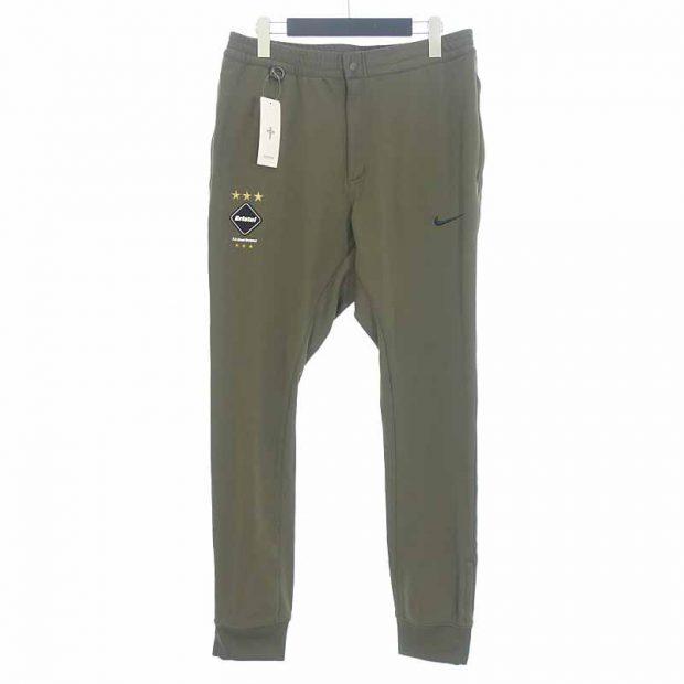 エフシーレアルブリストル/F.C.R.B 15ss NIKE Dri-Fit Warm up Pants ロゴ ワッペン パンツ