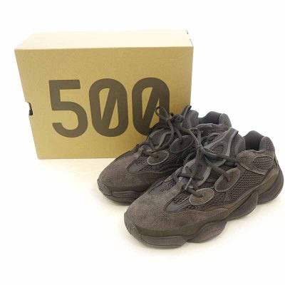 アディダス/ADIDAS YEEZY 500 UTILITY BLACK F36640 ローカットスニーカ- 買取参考金額 15000円前後