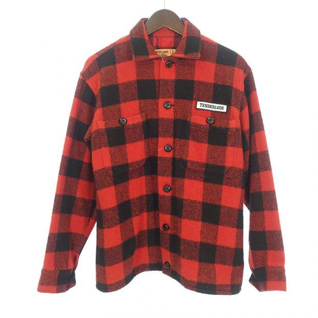 テンダーロイン/TENDERLOIN 04AW T-BUFFALO JKT バッファローシャツジャケット参考買取価格15000~25000円
