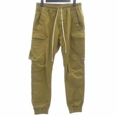 リックオウエンス/RICK OWENS 19SS BABEL期 CARGO JOG PANTSパンツ参考買取価格15000~25000円前後