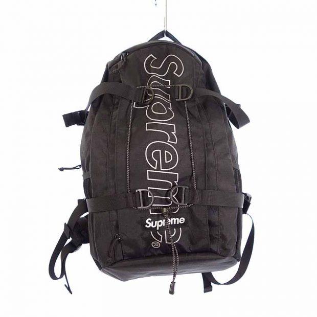 シュプリーム/SUPREME 18AW Backpack バックパック リュック 参考買取価格12.000円前後