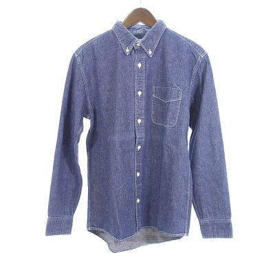 ヴィズヴィム/VISVIM 13AWボタンダウンデニムポケットシャツ買取参考金額5000~10000円前後