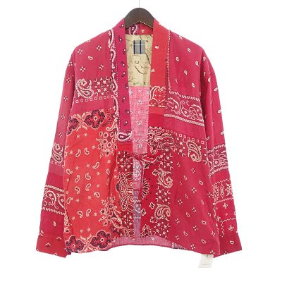 ヴィズヴィム/VISVIM 14SS ICT LHAMO SHIRT バンダナ ラモシャツ ジャケット買取参考金額50000~60000円前後