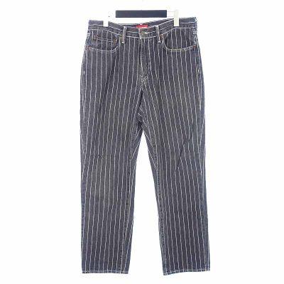 シュプリーム/SUPREME × Levis リーバイス 18SS Pinstripe 550 Jeans参考買取価格6000~12000円前後