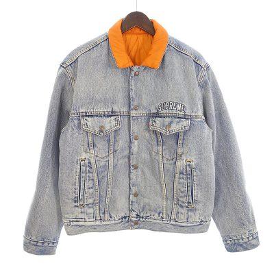 シュプリーム/SUPREME 18AW × リーバイス Reversible Jacket デニムジャケット参考買取価格10000~20000円前後