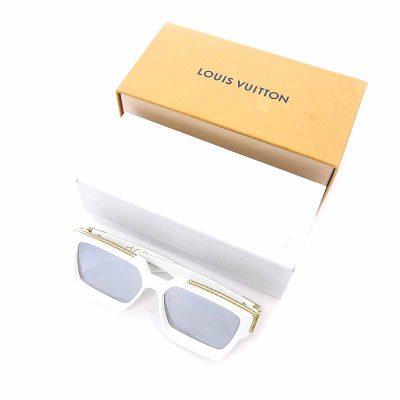 ルイヴィトン/LOUIS VUITTON 19SS ミリオネア モノグラム 装飾 切替 サングラス  買取参考金額 30000~40000円前後