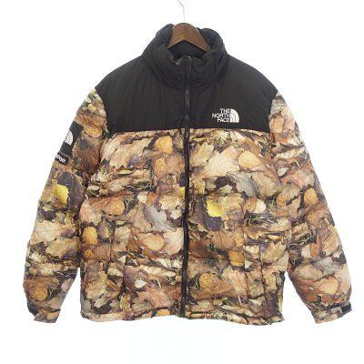 シュプリーム/SUPREME 16AW Leaves Nuptse Jacket ヌプシ ダウン ジャケット    買取参考金額 80000円前後